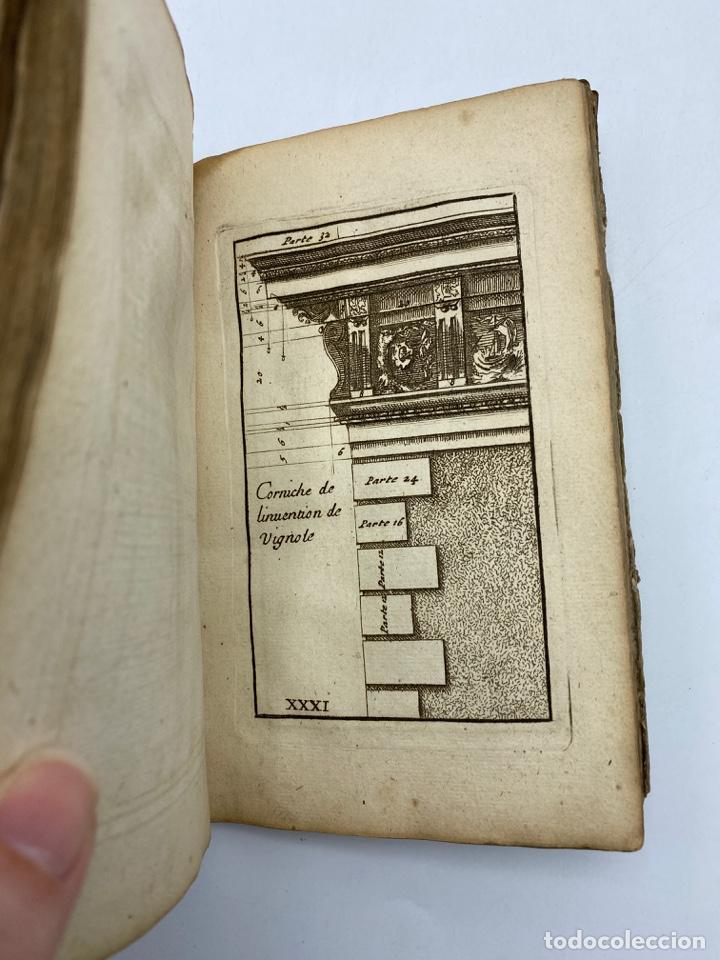 Libros antiguos: REGLE DES CINQ ORDRES DARCHITECTURE DE VIGNOLE. PARIS, 1694. EN FRANCÉS - Foto 34 - 279357743