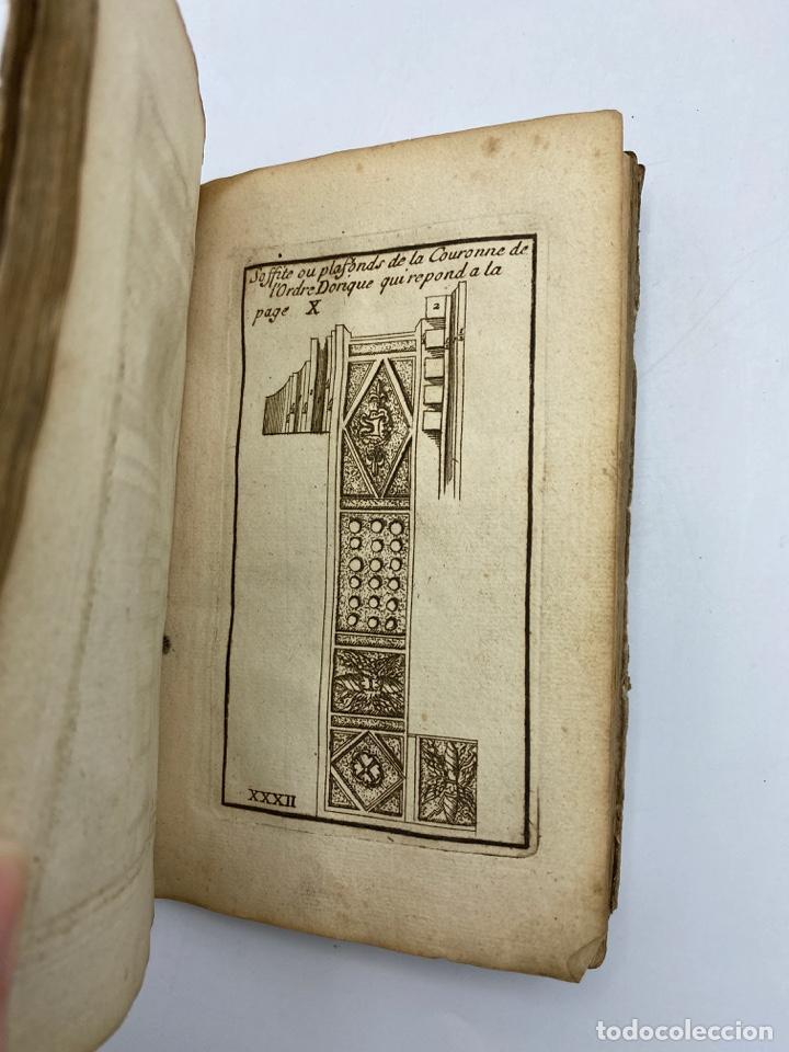 Libros antiguos: REGLE DES CINQ ORDRES DARCHITECTURE DE VIGNOLE. PARIS, 1694. EN FRANCÉS - Foto 35 - 279357743