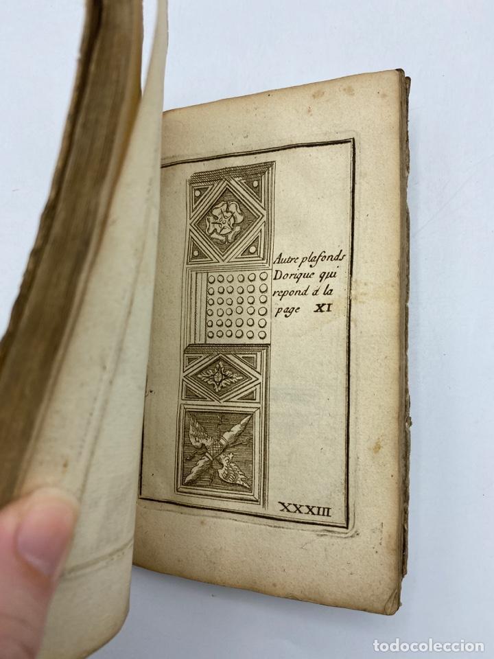 Libros antiguos: REGLE DES CINQ ORDRES DARCHITECTURE DE VIGNOLE. PARIS, 1694. EN FRANCÉS - Foto 36 - 279357743