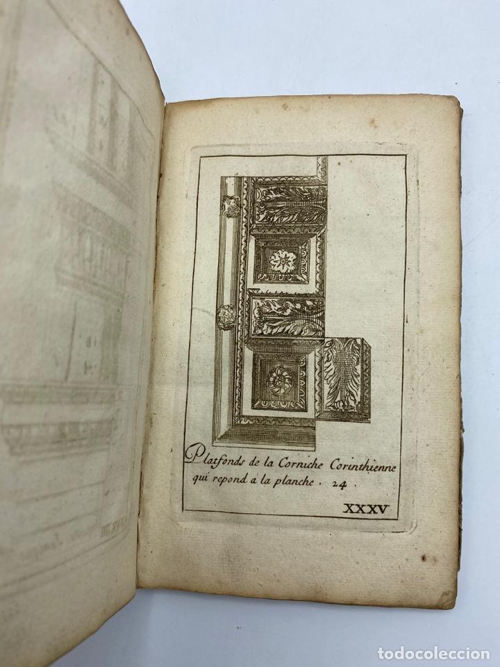 Libros antiguos: REGLE DES CINQ ORDRES DARCHITECTURE DE VIGNOLE. PARIS, 1694. EN FRANCÉS - Foto 37 - 279357743