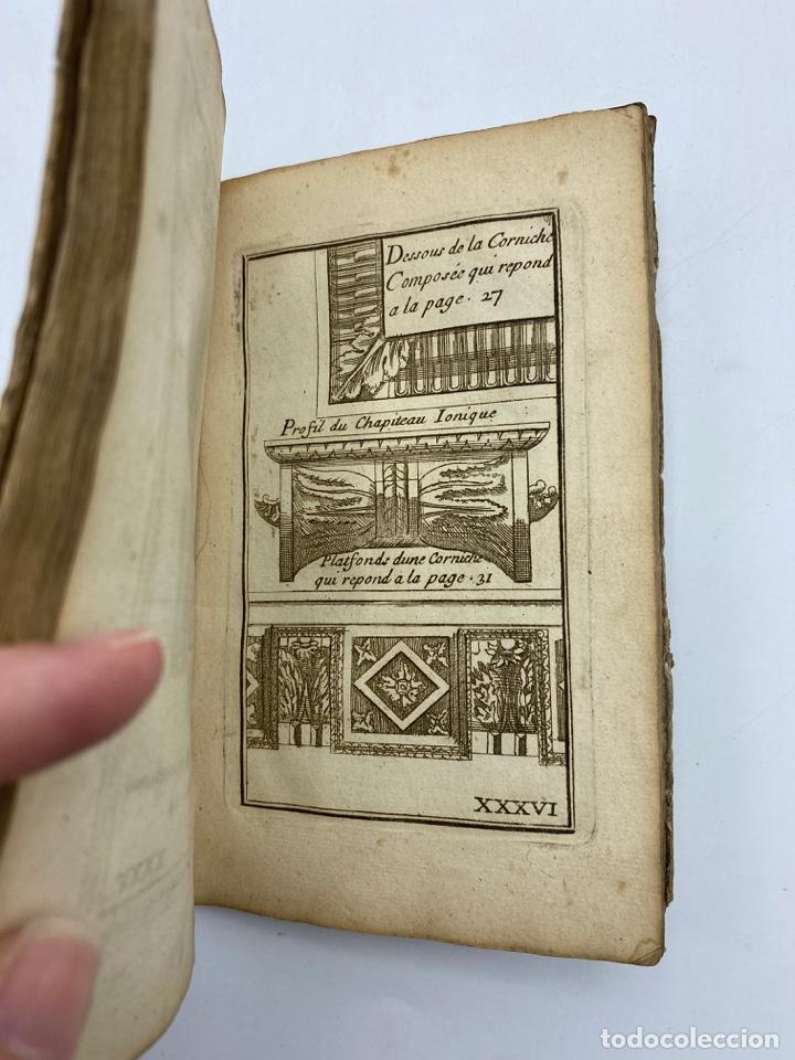 Libros antiguos: REGLE DES CINQ ORDRES DARCHITECTURE DE VIGNOLE. PARIS, 1694. EN FRANCÉS - Foto 38 - 279357743