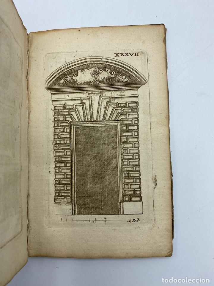 Libros antiguos: REGLE DES CINQ ORDRES DARCHITECTURE DE VIGNOLE. PARIS, 1694. EN FRANCÉS - Foto 39 - 279357743