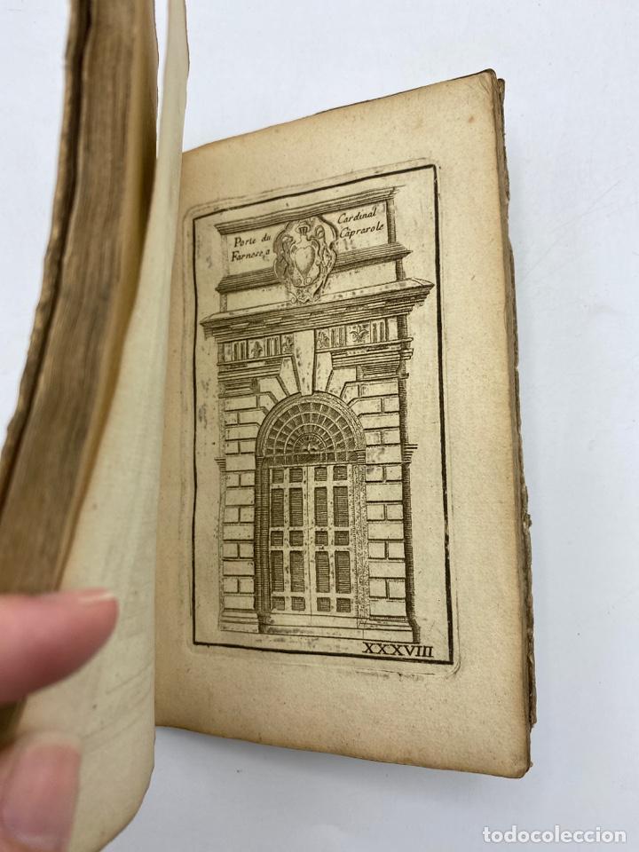 Libros antiguos: REGLE DES CINQ ORDRES DARCHITECTURE DE VIGNOLE. PARIS, 1694. EN FRANCÉS - Foto 40 - 279357743