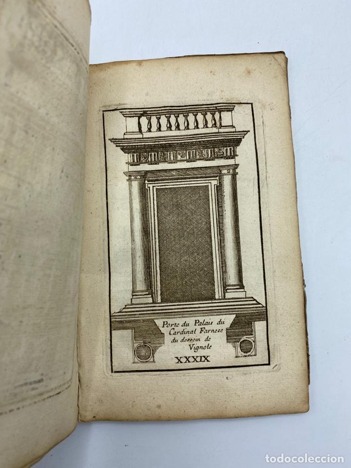 Libros antiguos: REGLE DES CINQ ORDRES DARCHITECTURE DE VIGNOLE. PARIS, 1694. EN FRANCÉS - Foto 41 - 279357743