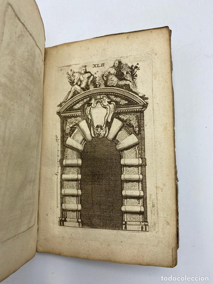 Libros antiguos: REGLE DES CINQ ORDRES DARCHITECTURE DE VIGNOLE. PARIS, 1694. EN FRANCÉS - Foto 44 - 279357743