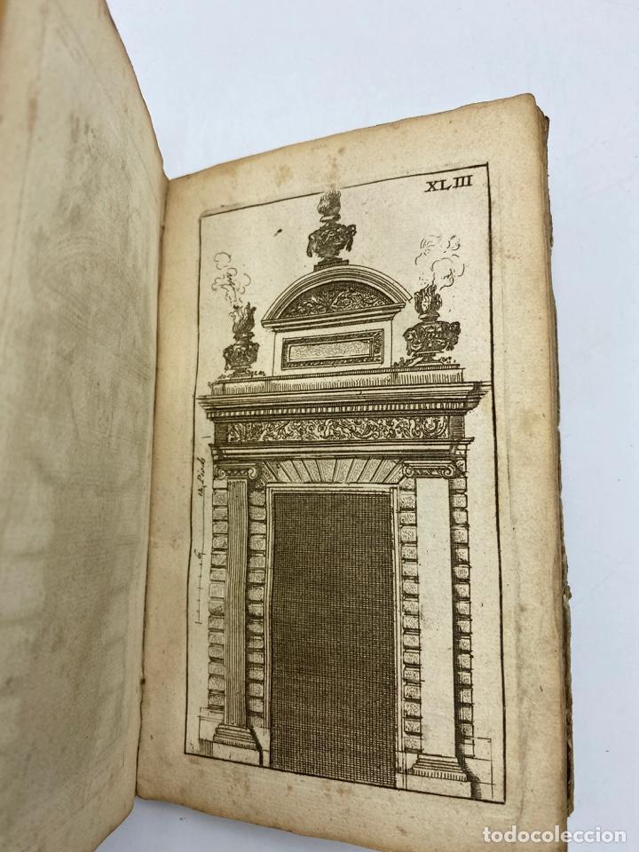 Libros antiguos: REGLE DES CINQ ORDRES DARCHITECTURE DE VIGNOLE. PARIS, 1694. EN FRANCÉS - Foto 45 - 279357743