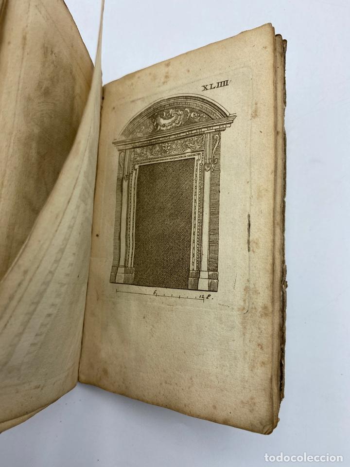 Libros antiguos: REGLE DES CINQ ORDRES DARCHITECTURE DE VIGNOLE. PARIS, 1694. EN FRANCÉS - Foto 46 - 279357743