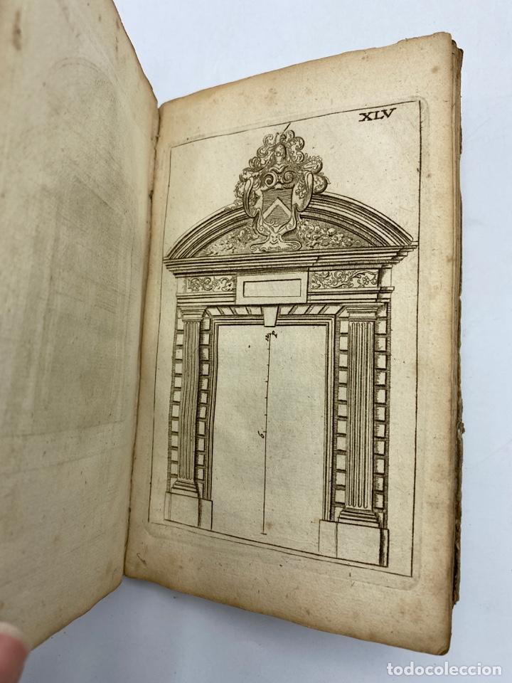 Libros antiguos: REGLE DES CINQ ORDRES DARCHITECTURE DE VIGNOLE. PARIS, 1694. EN FRANCÉS - Foto 47 - 279357743