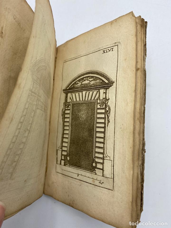 Libros antiguos: REGLE DES CINQ ORDRES DARCHITECTURE DE VIGNOLE. PARIS, 1694. EN FRANCÉS - Foto 48 - 279357743