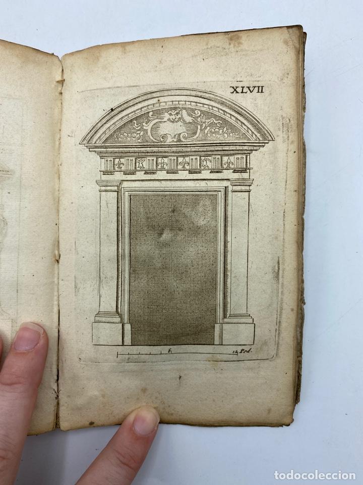Libros antiguos: REGLE DES CINQ ORDRES DARCHITECTURE DE VIGNOLE. PARIS, 1694. EN FRANCÉS - Foto 49 - 279357743
