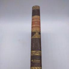 Libros antiguos: ELEMENTOS DE ARQUITECTURA POR JOHN MILLINGTON AÑO 1848 TOMO 2. Lote 284553323