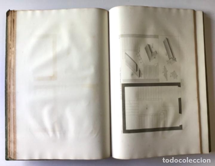 Libros antiguos: TRAITÉ THÉORIQUE ET PRATIQUE DE LART DE BATIR. - RONDELET, Jean y BLOUET, Abel. - Foto 3 - 286788223