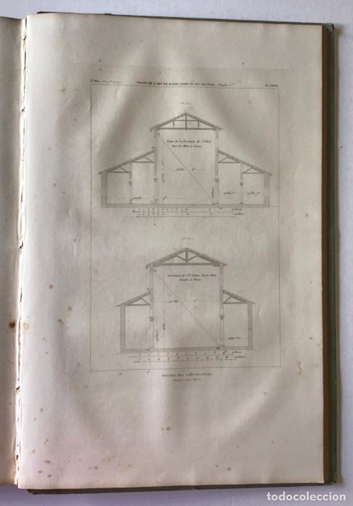 Libros antiguos: TRAITÉ THÉORIQUE ET PRATIQUE DE LART DE BATIR. - RONDELET, Jean y BLOUET, Abel. - Foto 7 - 286788223