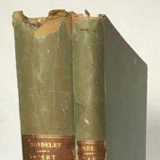 Libros antiguos: TRAITÉ THÉORIQUE ET PRATIQUE DE L'ART DE BATIR. - RONDELET, JEAN Y BLOUET, ABEL.. Lote 286788223