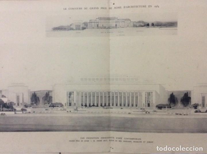 LE CONCOURS DU GRAND PRIX DE ROME EN 1934... SECTION D´ARCHITECT (Libros Antiguos, Raros y Curiosos - Bellas artes, ocio y coleccion - Arquitectura)