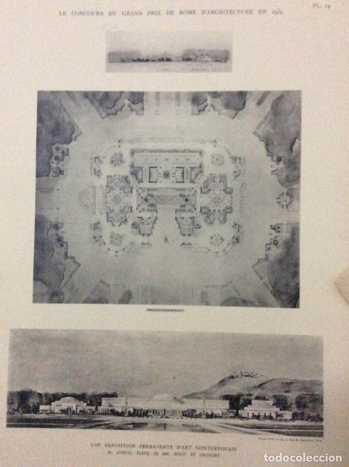 Libros antiguos: Le concours du grand prix de Rome en 1934... Section d´Architect - Foto 12 - 287611158