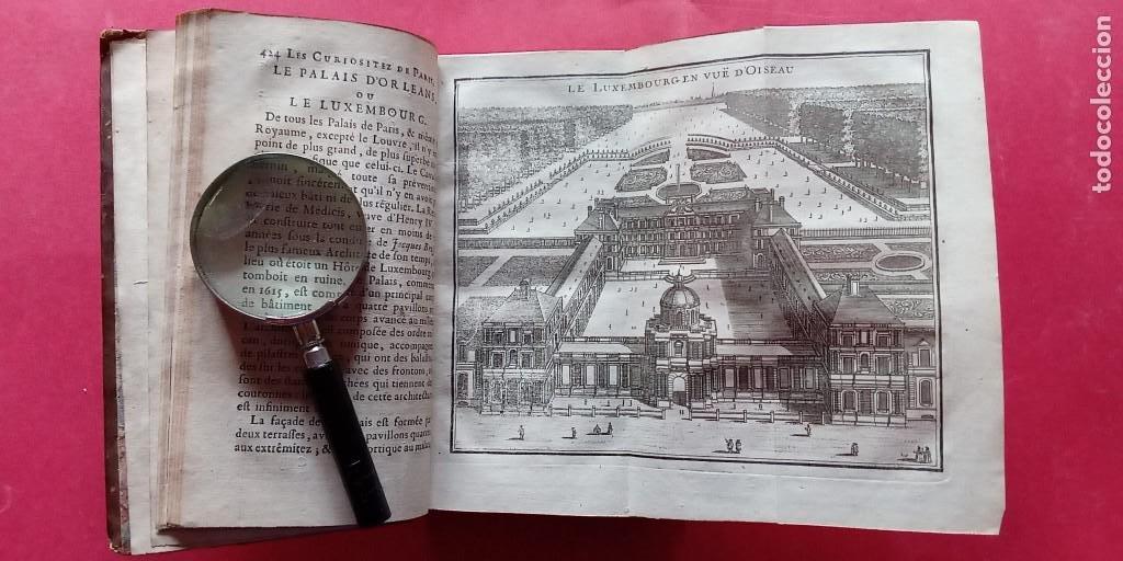 M.L.R.-LAS CURIOSIDADES DE PARIS.-VERSALLES.-MARLY.-TOMO SEGUNDO.-ARTE.-GRABADOS.-PARIS.-AÑO 1723. (Libros Antiguos, Raros y Curiosos - Bellas artes, ocio y coleccion - Arquitectura)