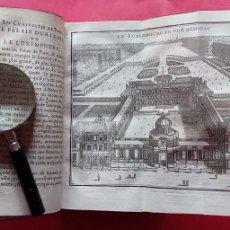 Libros antiguos: M.L.R.-LAS CURIOSIDADES DE PARIS.-VERSALLES.-MARLY.-TOMO SEGUNDO.-ARTE.-GRABADOS.-PARIS.-AÑO 1723.. Lote 287747883