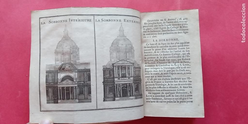 Libros antiguos: M.L.R.-LAS CURIOSIDADES DE PARIS.-VERSALLES.-MARLY.-TOMO SEGUNDO.-ARTE.-GRABADOS.-PARIS.-AÑO 1723. - Foto 3 - 287747883