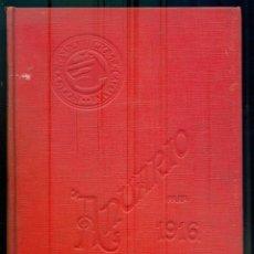 Libros antiguos: NUMULITE L1052 ANUARIO 1916 ASOCIACIÓN DE ARQUITECTOS DE CATALUÑA. Lote 288129663