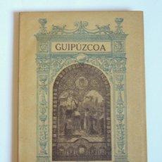 Libros antiguos: MONUMENTOS RELIGIOSOS DE GUIPUZCOA - CARMELO DE ECHEGARAY - IMPRENTA VIUDA DE LUIS TASSO. 1921. Lote 293633053