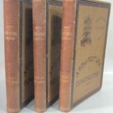 Libros antiguos: TRATADO COMPLETO TEÓRICO Y PRÁCTICO. ARQUITECTURA Y CONSTRUCCIÓN MODERNAS. Lote 294381353