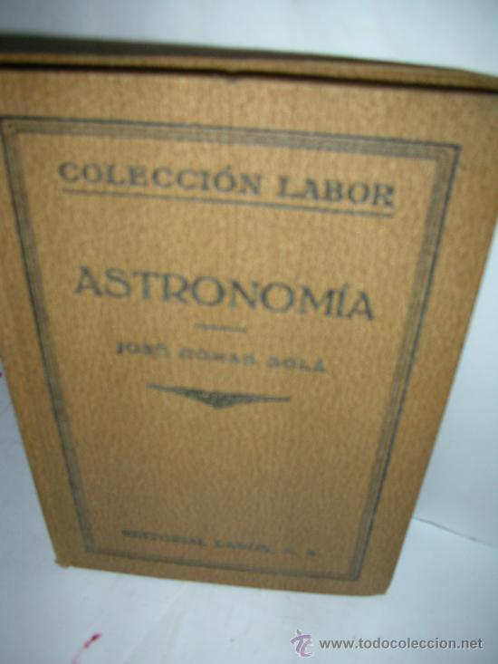 ASTRONOMIA, 1925, COMAS (Libros Antiguos, Raros y Curiosos - Ciencias, Manuales y Oficios - Astronomía)