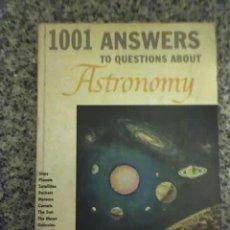 Libros antiguos: 1001 PREGUNTAS Y RESPUESTAS SOBRE ASTRONOMIA, POR JAMES PICKERING (EN INGLÉS) - G&D - NEW YORK. Lote 22480258