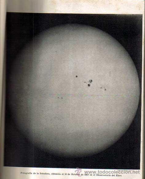 Libros antiguos: noticia del observatorio y de algunas observaciones del eclipse de 30 de agosto de 1905. - Foto 2 - 26655907