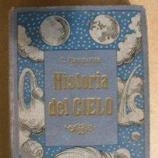 Libros antiguos: HISTORIA DEL CIELO-C.FLAMMARIÓN-TOMO PRIMERO. Lote 27323752
