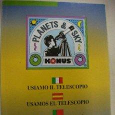 Libros antiguos: USAMOS EL TELESCOPIO - ENVIO GRATIS PARA ESPAÑA. Lote 28536965
