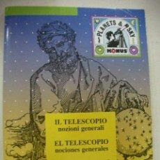 Libros antiguos: EL TELESCOPIO NOCIONES GENERALES. Lote 28536976