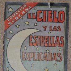 Libros antiguos: ANTIGUO MANUAL DE ASTROLOGIA ASTRONOMIA. EL CIELO Y LAS ESTRELLAS. . Lote 29530289