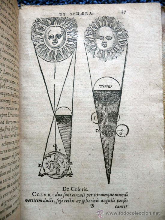 DE SPHAERA ET PRIMIS ASTRONOMIAE RUDIMENTIS - PLANTINI AMBERES 1581 (Libros Antiguos, Raros y Curiosos - Ciencias, Manuales y Oficios - Astronomía)