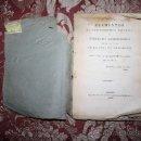 Libros antiguos: 0923- 'ELEMENTOS DE TRIGONOMETRIA ESFERICA Y GEOGRAFIA ASTRONOMICA.POR D.A.L. IMP. DON LEON - 1823. Lote 31661202