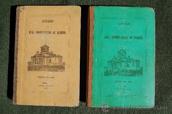 ANUARIO DEL REAL OBSERVATORIO DE MADRID (Libros Antiguos, Raros y Curiosos - Ciencias, Manuales y Oficios - Astronomía)