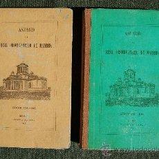 Libros antiguos: ANUARIO DEL REAL OBSERVATORIO DE MADRID. Lote 34023508