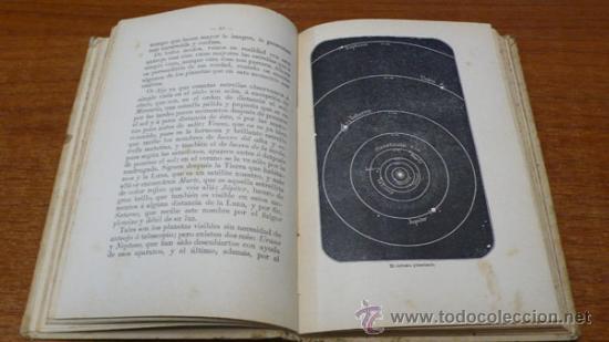 Libros antiguos: LAS MARAVILLAS DEL CIELO Ó LA CIENCIA ASTRONÓMICA... GÁLVEZ ENCINAR, ROQUE. ED. SATURNINO CALLEJA. - Foto 6 - 34341258