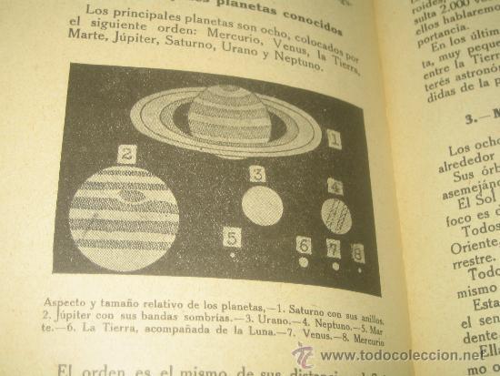 Libros antiguos: EL CIELO.. LECTURAS CIENTIFICAS SOBRE ASTRONOMIA POR VICTORIANO F. ASCARZA 1931 - Foto 4 - 34380808