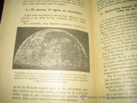 Libros antiguos: EL CIELO.. LECTURAS CIENTIFICAS SOBRE ASTRONOMIA POR VICTORIANO F. ASCARZA 1931 - Foto 5 - 34380808