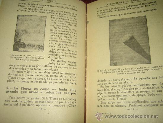 Libros antiguos: EL CIELO.. LECTURAS CIENTIFICAS SOBRE ASTRONOMIA POR VICTORIANO F. ASCARZA 1931 - Foto 6 - 34380808