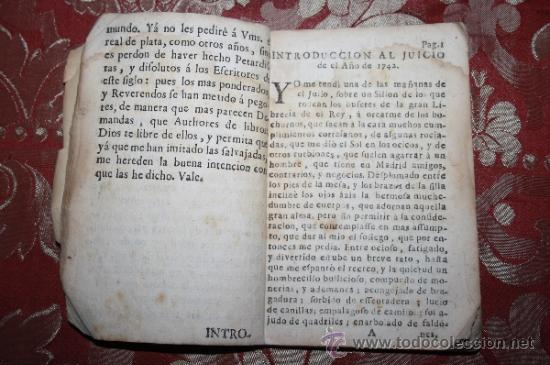 Libros antiguos: LP-025 - PRONOSTICO Y DIARIO DE QUARTOS DE LUNA. PISCATOR DE SALAMANCA.1742. - Foto 4 - 35092819