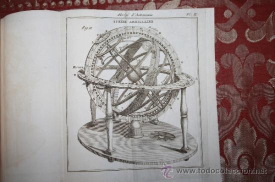 Libros antiguos: 5900 - ABRÉGÉ DASTRONOMIE. JÉROME LALANDE. PARIS CHEZ FIRMIN DIDOT - 1795 - Foto 7 - 35127410
