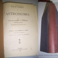 Libros antiguos: RIBERA Y URUBURU, LUIS DE. TRATADO DE ASTRONOMÍA. Lote 36763915