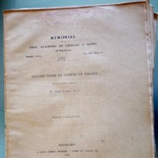 Libros antiguos: ESTUDIO SOBRE EL COMETA HALLEY. JOSÉ COMAS SOLA. Lote 37411462