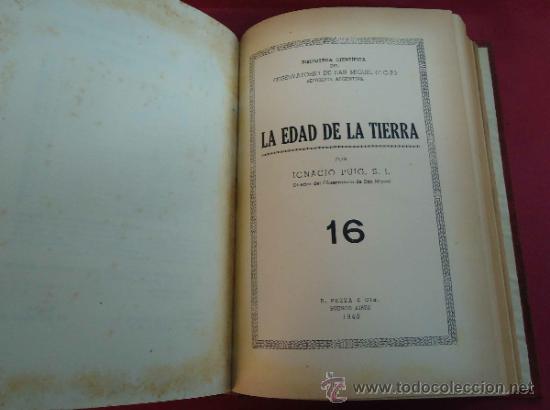 Libros antiguos: MONOGRAFIAS CIENTIFICAS. IGNACIO PUIG. TOMO I. 1949. BARCELONA. - Foto 3 - 38110370