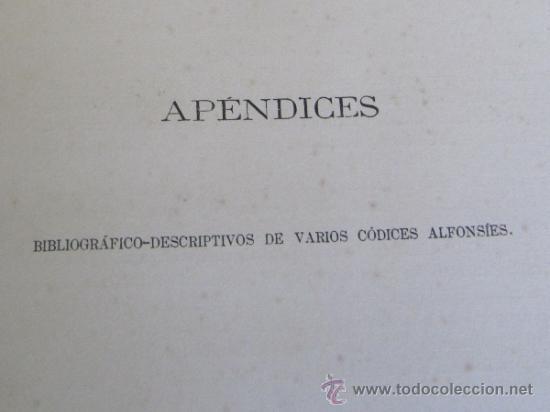 Libros antiguos: LIBROS DEL SABER DE ASTRONOMÍA DEL REY D. ALFONSO X DE CASTILLA. TIP. DE EUSEBIO AGUADO, MADRID 1863 - Foto 18 - 39151973