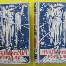 Libros antiguos: ASTRONOMIA POPULAR. AUGUSTO T. ARMICIS. II TOMOS, COMPLETA. MONTANER Y SIMON. BARCELONA, 1901.. Lote 39155904