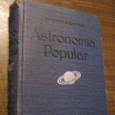 Libros antiguos: ASTRONOMIA POPULAR - S.NEWCOMB Y ENGELMANN - GUSTAVO GILI EDITOR 1926. Lote 40003060