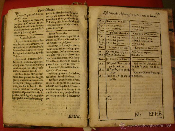 Libros antiguos: LA CORTE SANTA. CORTE DIVINA. LIVRO IV. SIGLO XVII-XVIII ??. TRATADO DE ASTROLOGIA - Foto 5 - 40852908